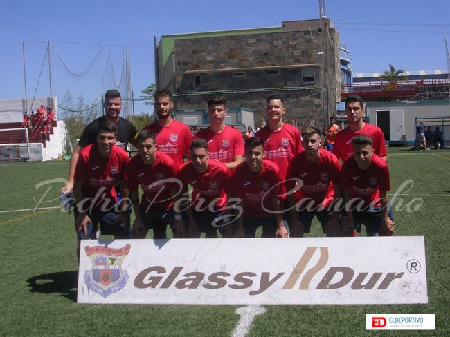 Once inicial del Glassydur Icodense.