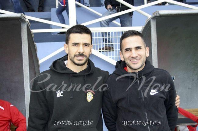 Foto de Jonás García junto a Rubén García.