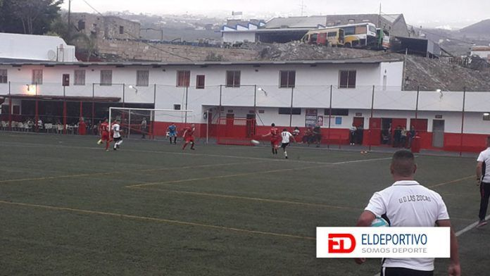 La Zocas B en el último tramo del partido, adquiría una buena ventaja ante el Puerto Cruz B.