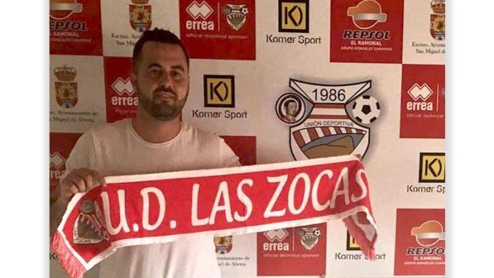 David Alonso nuevo míster de Las Zocas.