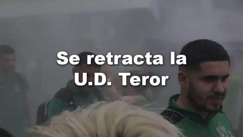 Se RETRACTA la UD Teror su COMUNICADO.