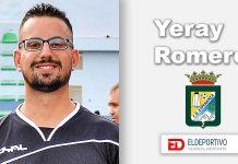 Yeray Romero, con el C.D. Z. Esperanza.