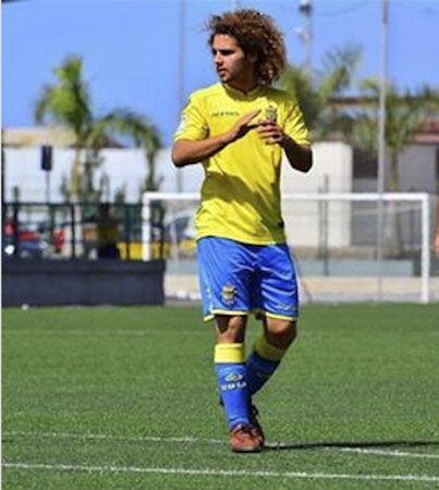 Foto de Aday en la UD Las Palmas.