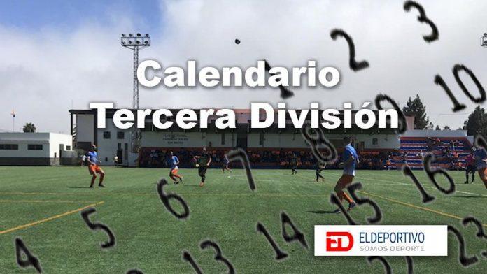 Sorteado el calendario deTercera División 2019-20.