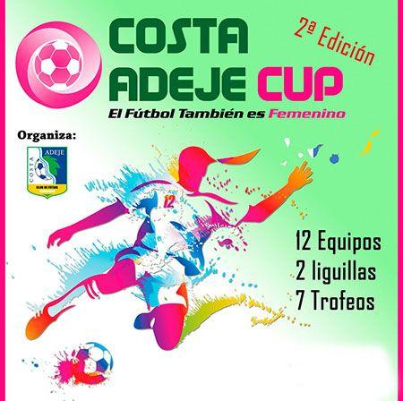 Cartel del Torneo Adeje Cup.