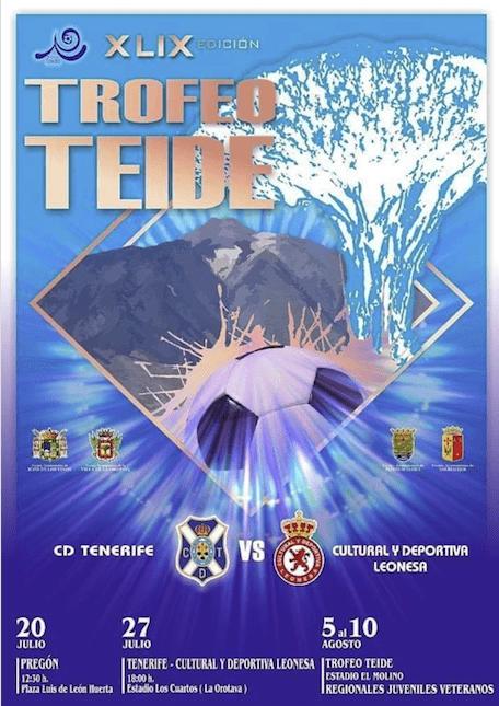 Cartel en marcha el XLIXl Trofeo Teide.