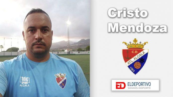 Cristo Mendoza, nuevo míster del Atlco Alcalá.