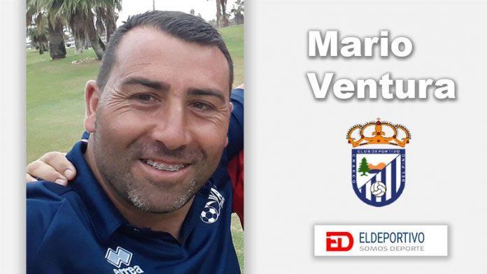 Mario Ventura, entrenador del Charco del Pino.