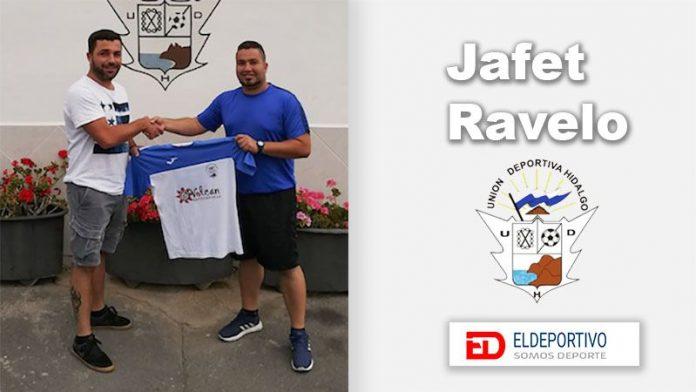 Jafet Ravelo, nuevo entrenador de la UD Hidalgo.