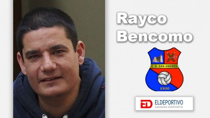 Rayco Bencomo dirigirá al CD San Andrés.