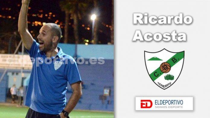 Ricardo Acosta, ocupará el banquillo del CD Buenavista.