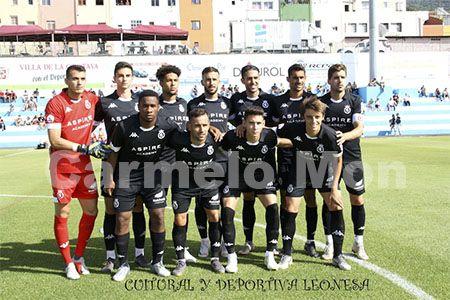 Once inicial de la Cultural Leonesa, Trofeo Teide 2019.