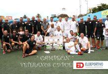 El Puerto Cruz de veteranos campeón del trofeo Virgen del Carmen.