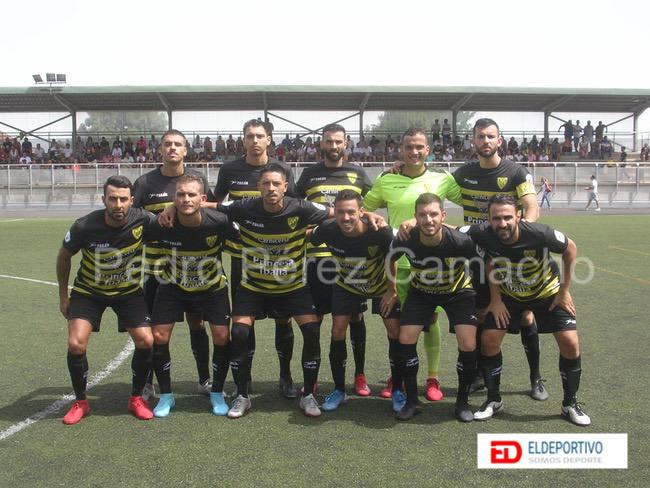 Once inicial del Atl. Tacoronte.