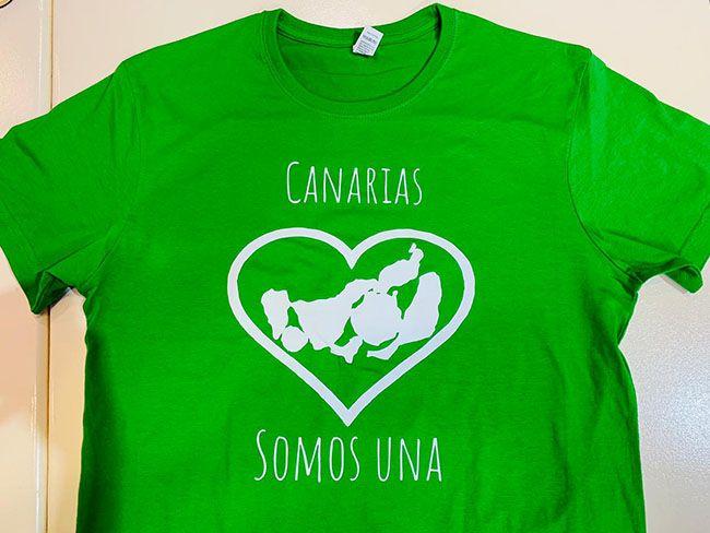 Camisetas para el homenaje que saldrán a la venta en el derbi.