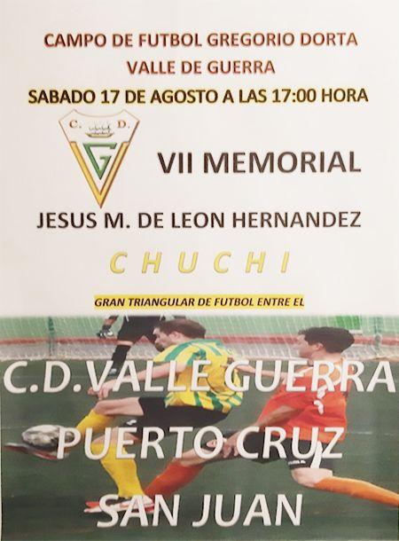 Cartel del memorial.