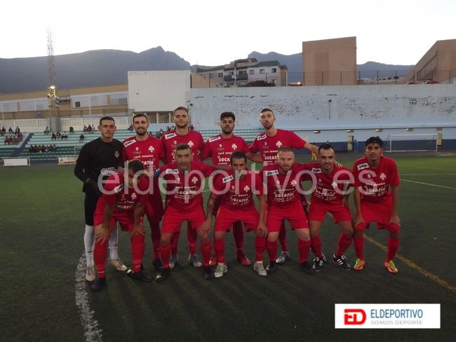 Once inicial del CD Sauzal.