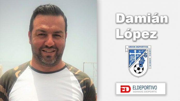Damián López, nuevo entrenador de la UD Cruz Santa.