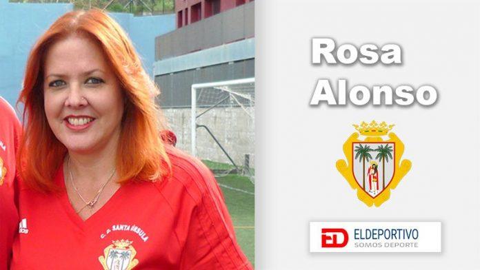 Rosa Alonso presidenta del Santa Úrsula.