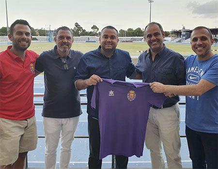 Foto del equipo técnico del CD Laguna, temporada 2019-20.