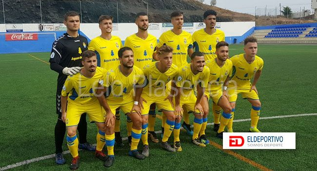 Once de la UD Las Palmas.