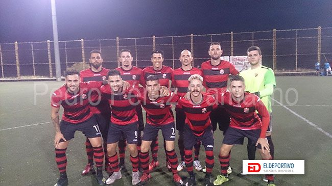 Once inicial del AD Añaza.
