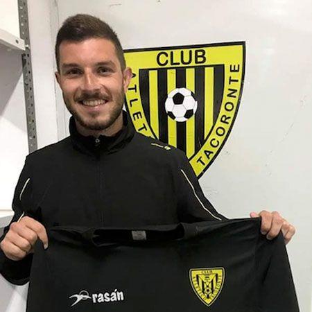 Foto de Óscar, que ficha con el Atlético Tacoronte.