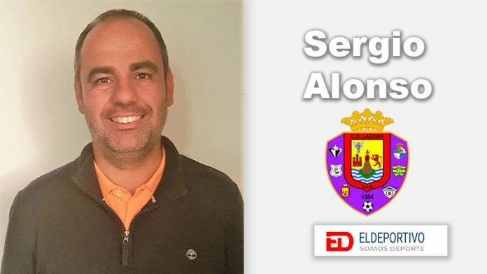 Sergio Alonso, entrenador del primer equipo del C.D. Laguna.