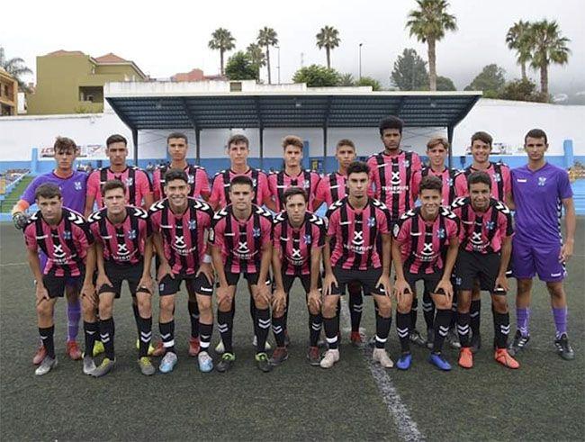 Tenerife B vencedor categoría juvenil.