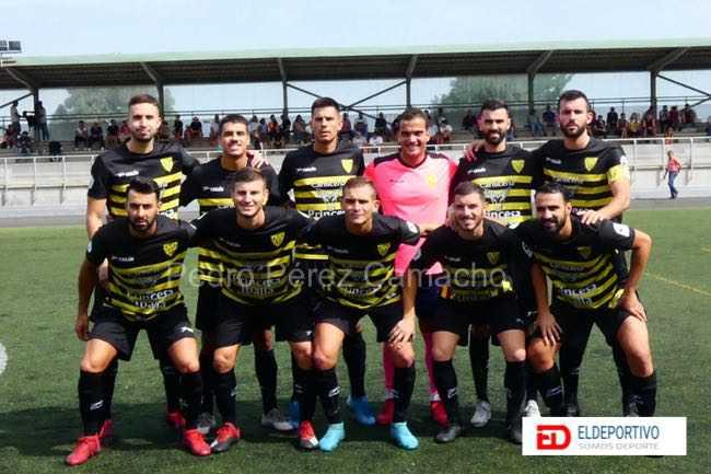 Once del Atlético Tacoronte.