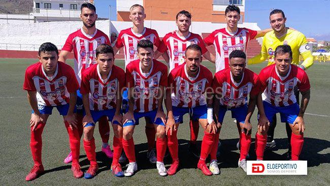 Once del Atlético Granadilla.