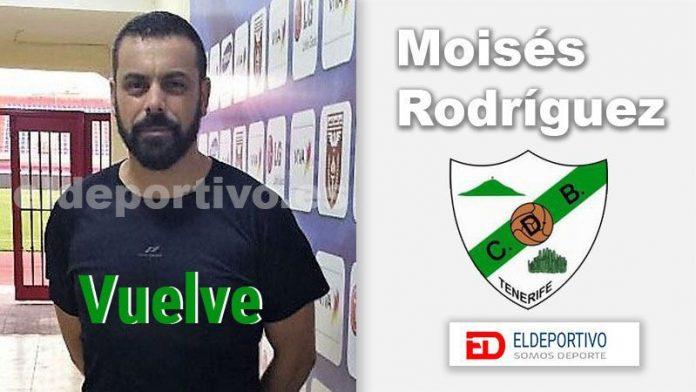 Moisés Rodríguez vuelve al banquillo del CD Buenavista.