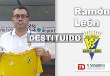 Destituido el entrenador del CD Candelaria.