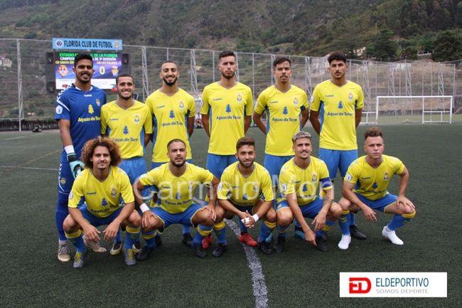 Once de la UD Las Palmas C.