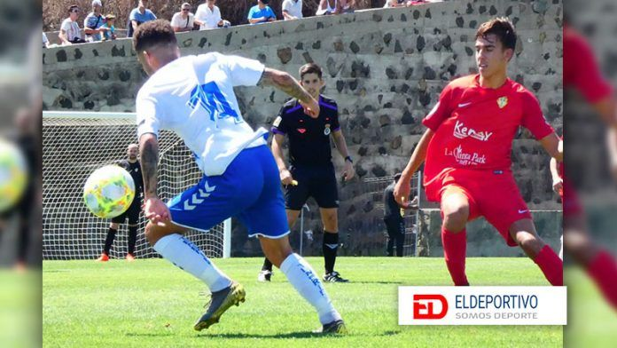 Triunfo del Tenerife B con dedicatoria.