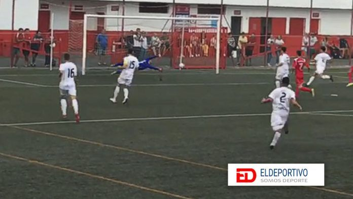 Tercer Gol de Toñeca.