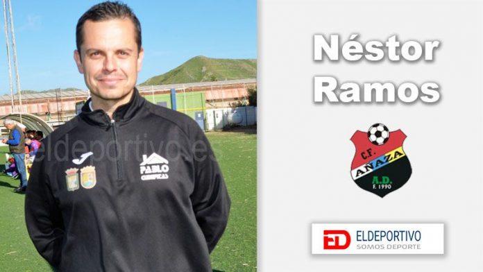 Néstor Ramos entrenador A.D. Añaza