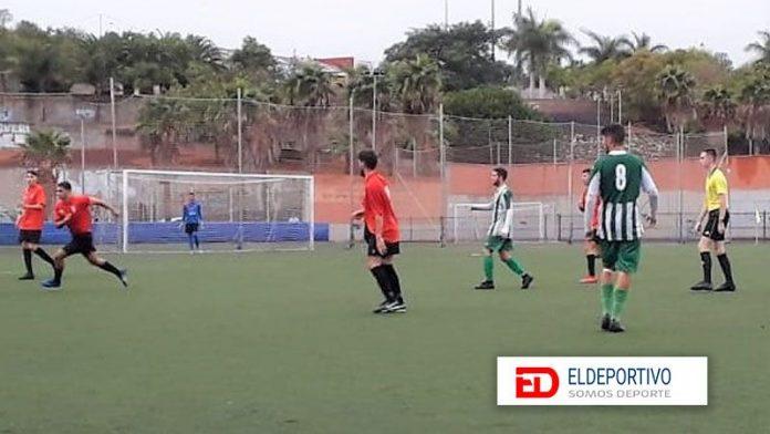 El gol de David Cabrera mete en zona de descenso al Valle Guerra.