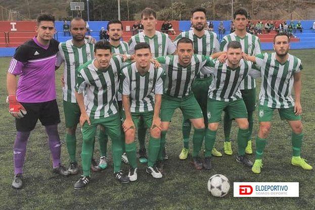 Once inicial del Atlético Pinar.