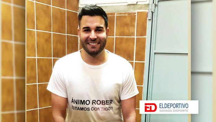 Rober González Díaz, jugador de la U.D. Orotava.