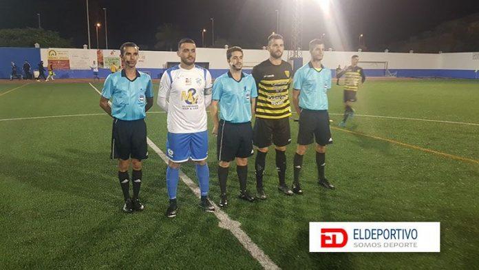 Medina da tres puntos de oro al Atlético Tacoronte.