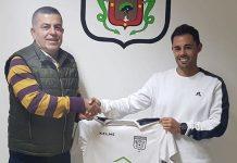 Ruben técnico de la UD Orotava.