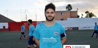 Rubén Rosquete, máximo goleador Preferente Tinerfeña, primera vuelta 2019.