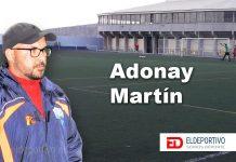 """Adonay Martín, """"Cien partidos en Tercera División""""."""