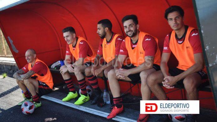 El San Lorenzo - Añaza se supende a los cinco minutos de empezar.