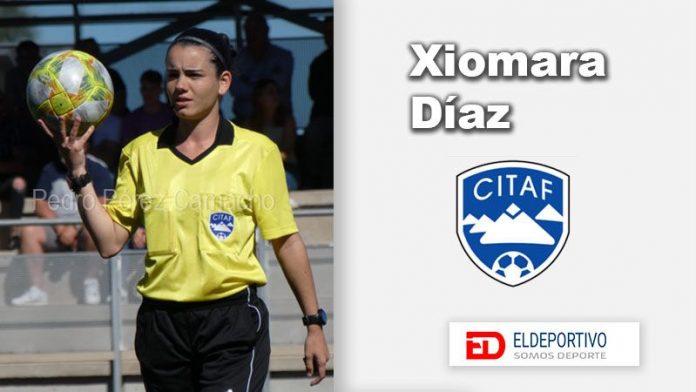 Xiomara Díaz García, árbitro de Primera Iberdrola y Tercera División.