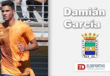 """Damián García, """"En Los Llanos me siento uno más desde el principio""""."""