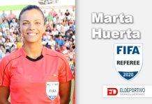 La Internacional Marta Huerta de Aza, un referente en el arbitraje femenino.