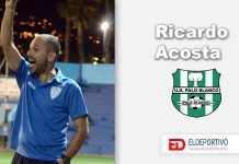 """Ricardo Acosta, """"Si el Palo Blanco es líder, es un trabajo de todos y merecido""""."""