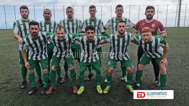 Once inicial del primer equipo del Atlético Pinar.
